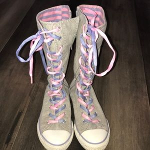 Converse All Star High gray size 2.5 youth